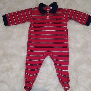 Ralph Lauren Footed Jumpsuit Size 6-9m